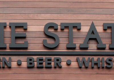 The State Signage